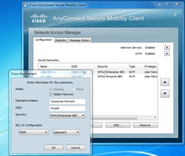 Download Cisco AnyConnect VPN client