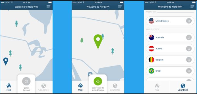 Download NordVPN for iPhone