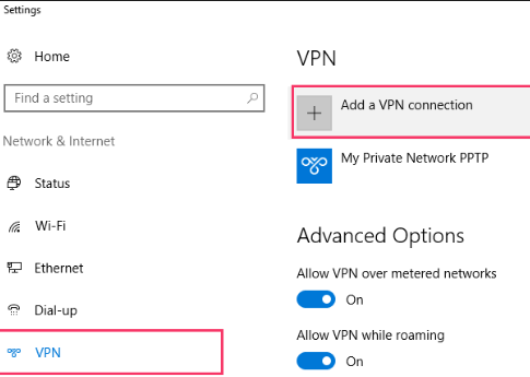 VyprVPN on windows 10