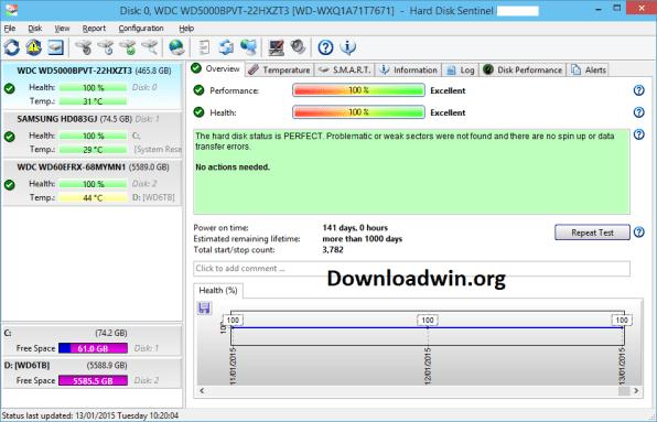Hard Disk Sentinel Pro Crack 5.70 + Registration Key Download (2021)