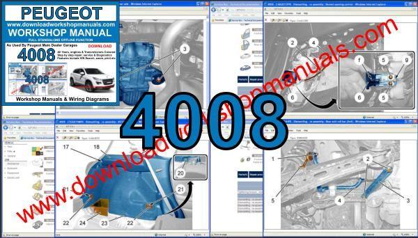 Peugeot 4008 Workshop Repair Manual