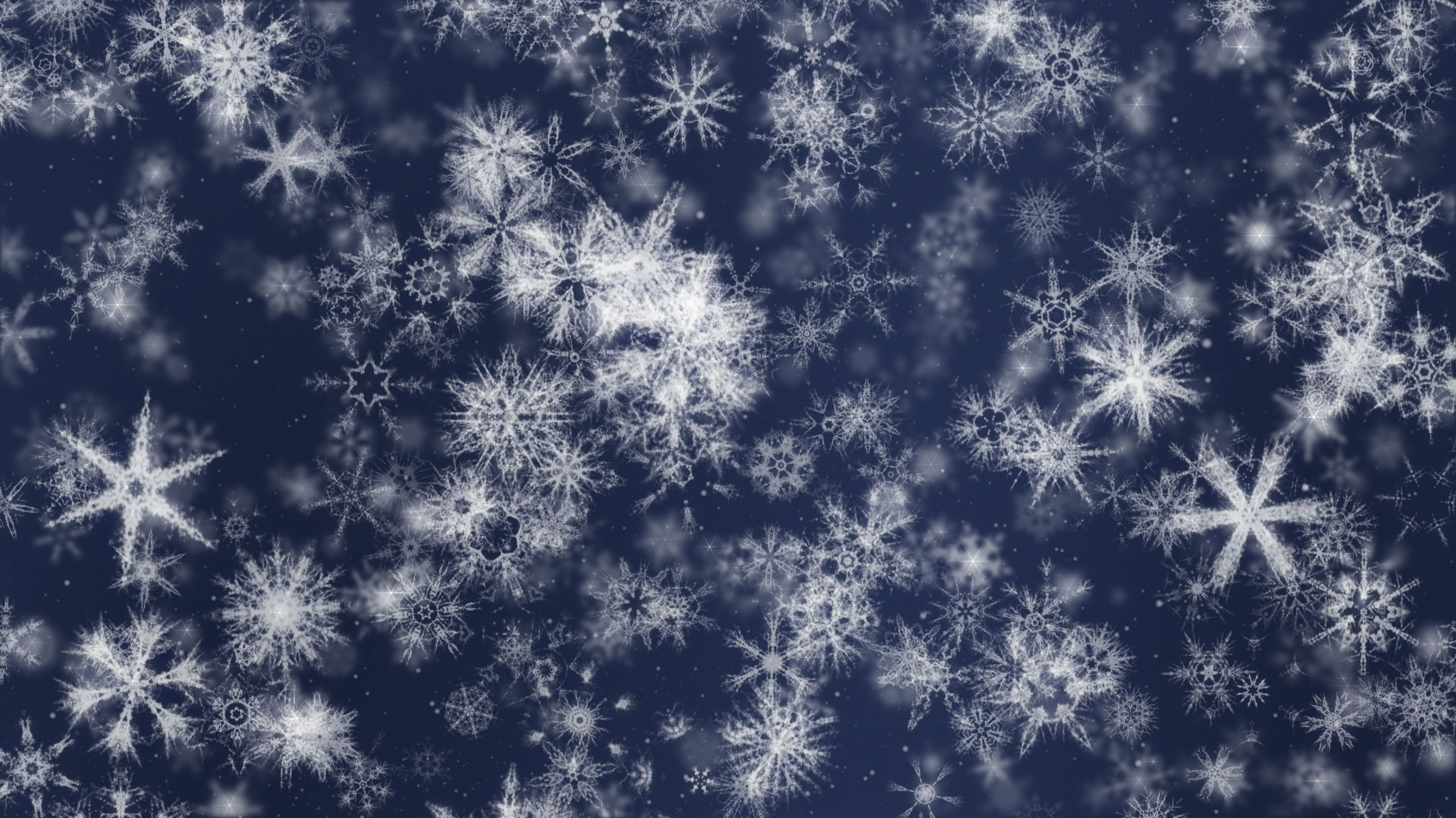 Pretty Snow 3 Downloops Creative Motion Backgrounds