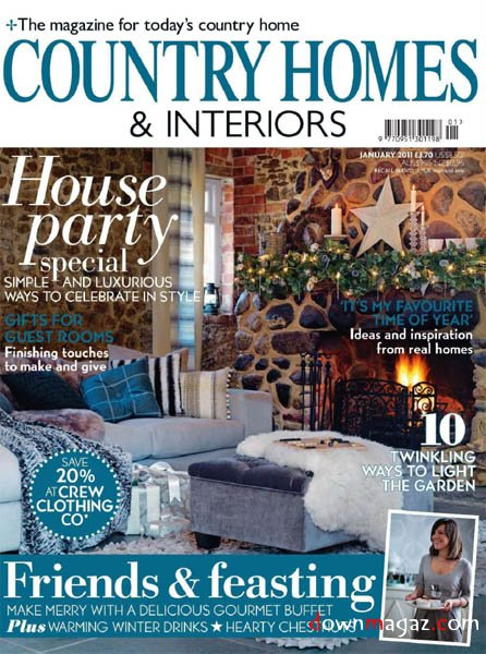 Country Homes Amp Interiors January 2011 Download PDF