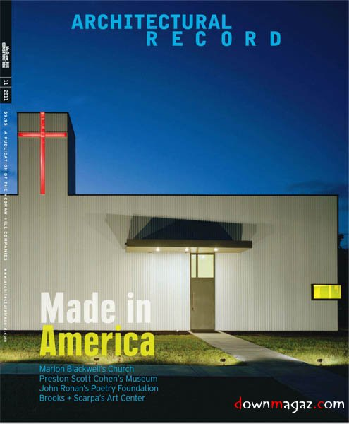 Architectural Record November 2011 Download PDF