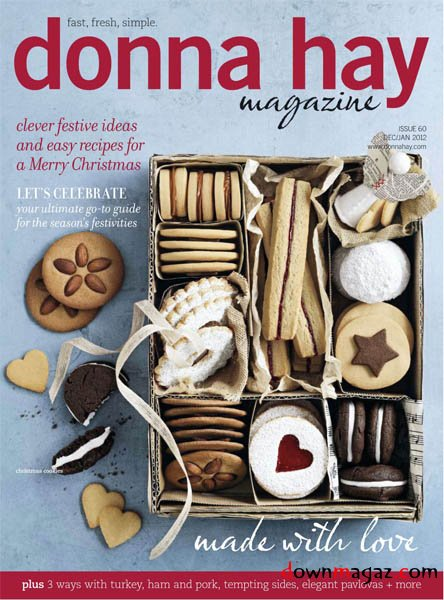 Donna Hay December 2011January 2012 Download PDF Magazines Magazines Commumity