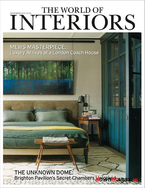 The World Of Interiors Magazine November 2012 Download