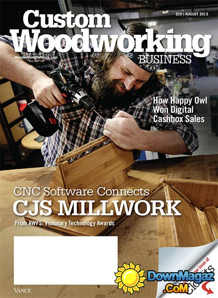 Custom Woodworking Business - August 2013 » Download PDF ...