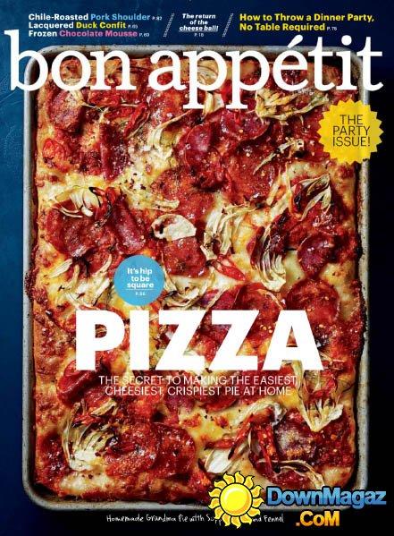 Bon Appetit October 2014 Download PDF Magazines