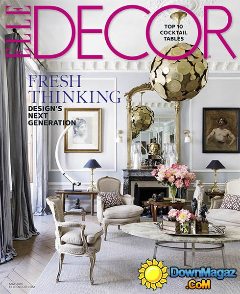 Elle Decor Usa Full Year 2016 Collection