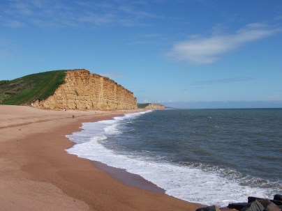 West Bay- they filmed a TV series here reently ( Broadchurch, with David Tennant)