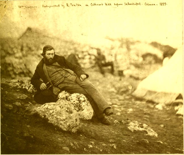William_Simpson_in_the_Crimea