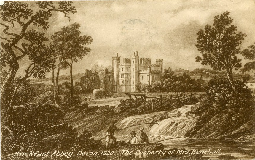 1828 Buckfast Abbey property of Mrs Benthall