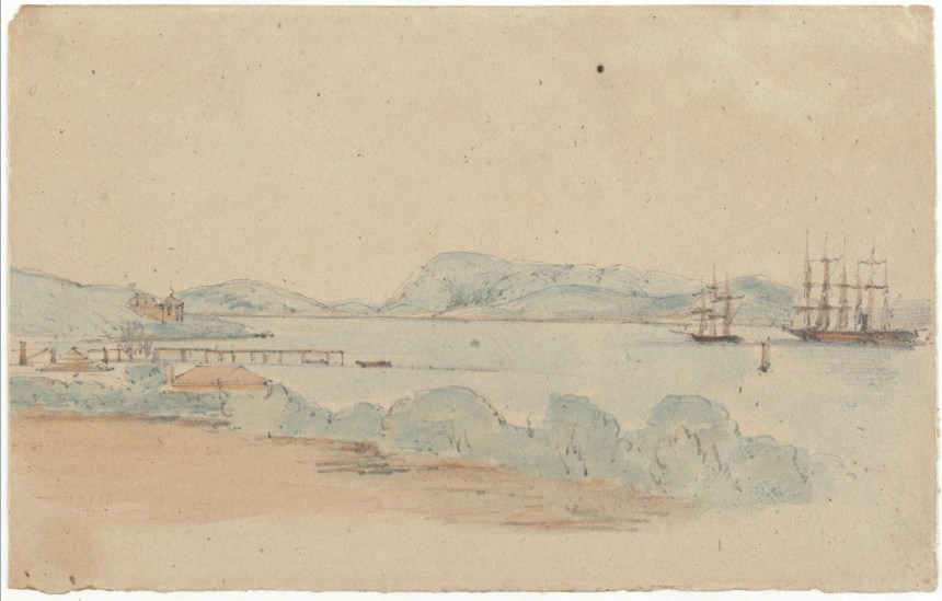 Harbour of Albany 1854