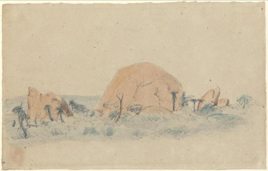 Stones Near Albany 1854