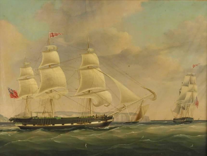 The_Ship_Isabella_at_Sea