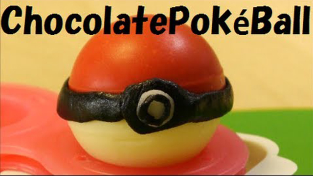 chocolate pokeball
