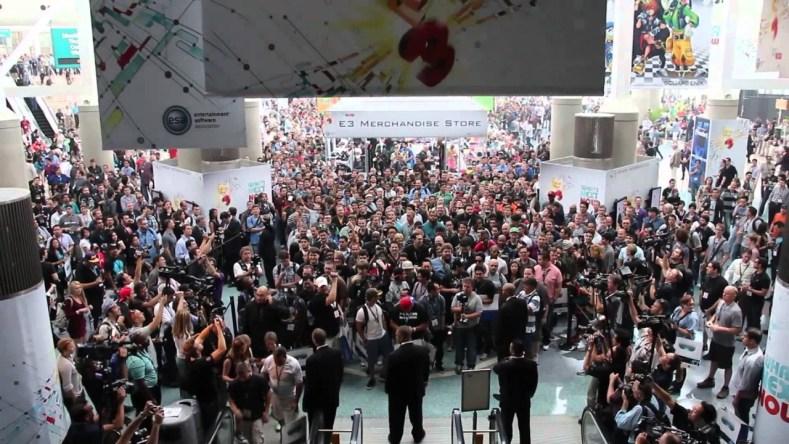 E3 Entrance Crowd