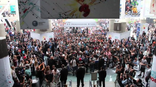 E3 Entrance Crowd