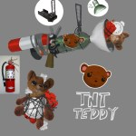 TNT Teddy Weapon (Sunset Overdrive Concept Art)