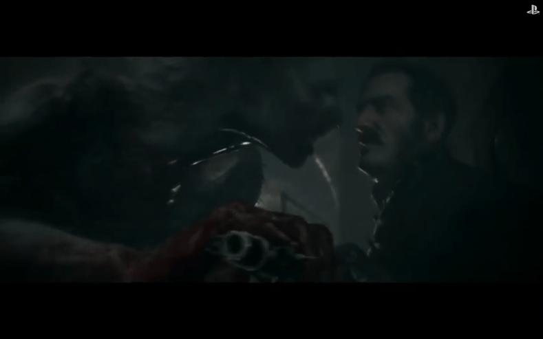 Werewolf fighting human - The Order: 1886 - E3 2014