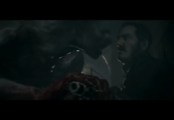Werewolf fighting human - The Order: 1886 - E3 2014