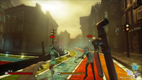 Fighting / Combat We Happy Few (Pre-Alpha)