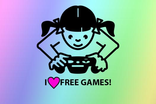 Gamer Girl Loves Free Games
