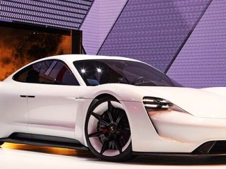Closer Look At Porsche's Mission E Concept Car