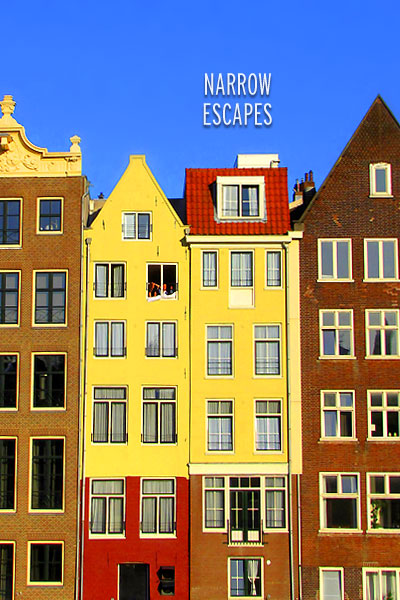Amsterdam Cover Narrow Escapes SS Skinny Homes around the World