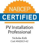 NABCEB certified for Nick Kirk