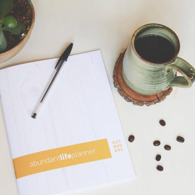Introducing A Planner That Encourages An Abundant Life