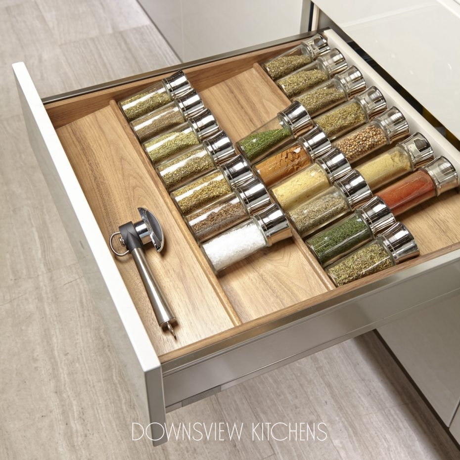Drawer Organization Downsview Kitchens And Fine Custom Cabinetry Manufacturers Of Custom
