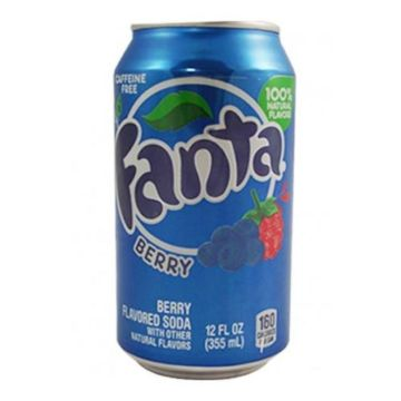 Fanta Blueberry Drink
