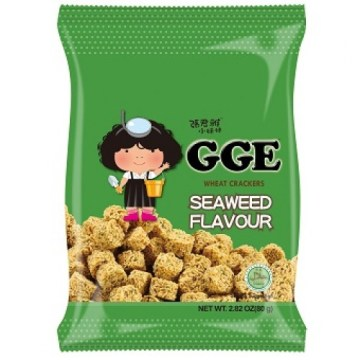 GGe Seaweed Flavour Wheat Crackers