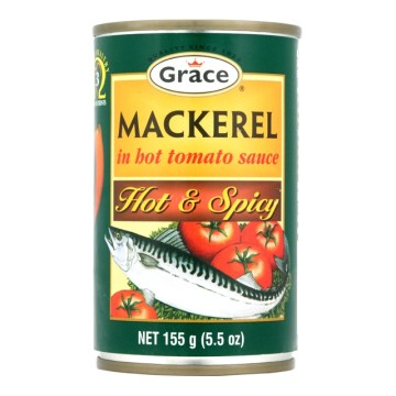 Hot and Spicy Grace Mackerel
