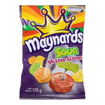 Maynard Candy Bag Size Sour Wine Gum