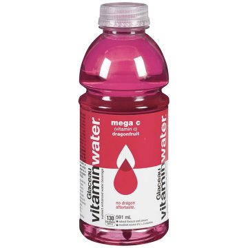 Glaceau Vitamin Water Mega C Dragon Fruit Energy Drink