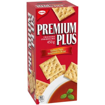 Premium Plus Crackers Salted