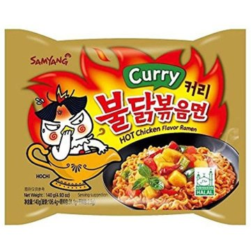 Samyang Hot Chicken Flavor Ramen Curry