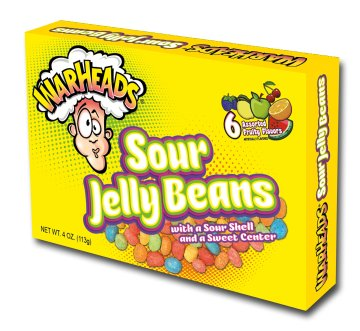 Warhead Sour Jelly Bean Theater Box