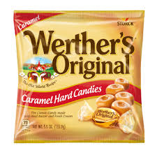 Werther's Original Caramel Hard Candy Bag Size