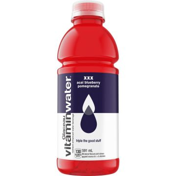 Glaceau Vitamin Water Acai Blueberry Pomegranate Energy Drink