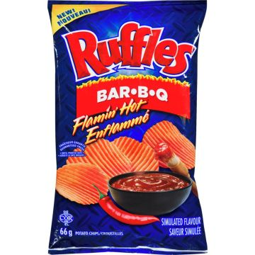 Ruffle BBQ Hot Chips