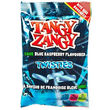 Tangy Zangy Sour Blue Raspberry