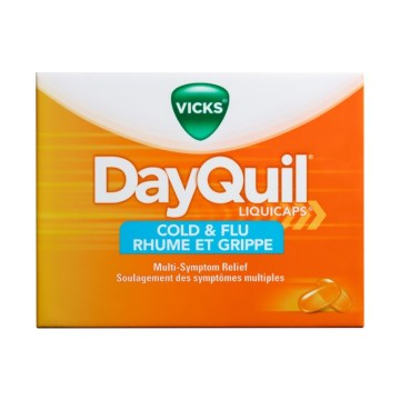 Dayquil Cold & Flu Liquid Capsule