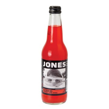 Strawberry Lime Jones Soda