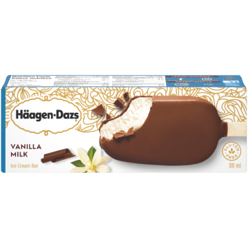Haagen Dazs Vanilla Milk Icecream Bar