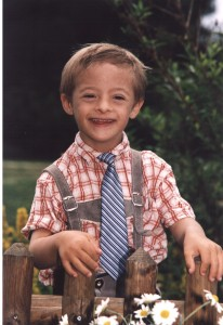 Wolfi's School picture July 2006