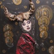 Horned Queen - $15