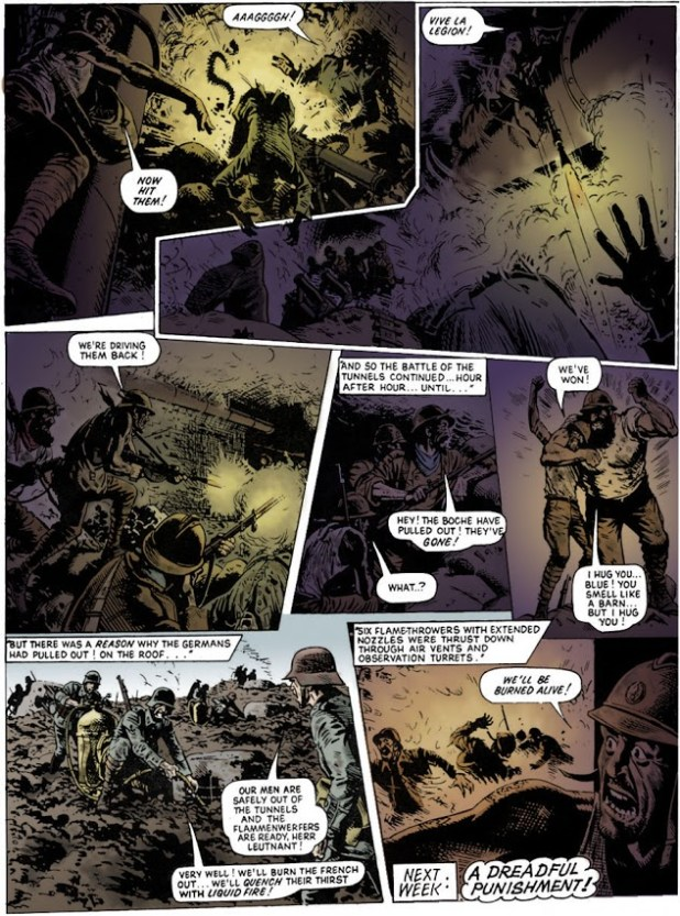Charley's War, re-coloured by Steve Beeney.